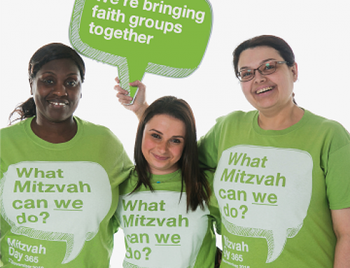 Sunday 18th November: Mitzvah Day meets MS Positive – please come!
